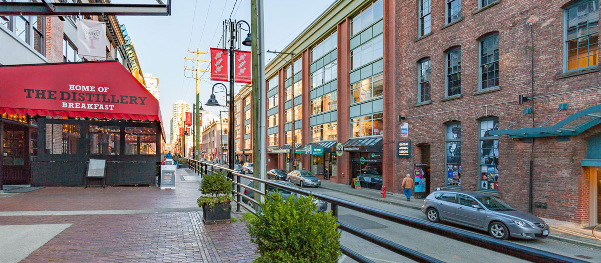 Yaletown Streets
